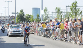 The Cyclist Jarlinson Pantano Gomez - Tour de France 2015 Stock Photos