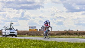 The Cyclist Jelle Vanendert Stock Photo