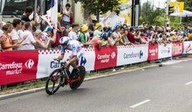 The Cyclist Jeremy Roy - Tour de France 2015 Stock Photo