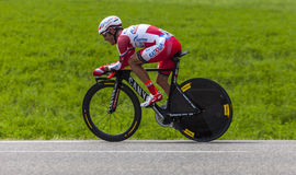 The Cyclist Joaquim Rodriguez Oliver Royalty Free Stock Photos