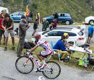 The Cyclist Joaquim Rodriguez - Tour de France 2015 Royalty Free Stock Photography