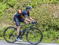 The Cyclist Jon Izagirre Insausti Stock Photo