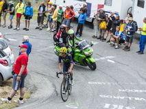 The Cyclist Jose Herrada Lopez - Tour de France 2015 Stock Photo