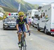 The Cyclist Jose Herrada Lopez - Tour de France 2015 Stock Photography