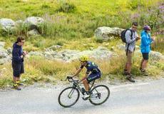 The Cyclist Jose Herrada Lopez - Tour de France 2015 Royalty Free Stock Photo