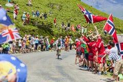The Cyclist Julien El Fares Stock Images