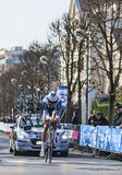 The Cyclist Keizer Martijn- Paris Nice 2013 Prologue in Houilles Stock Image