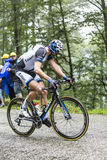 The Cyclist Koen de Kort Climbing Col du Platzerwasel - Tour de Stock Photography