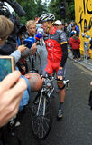 Cyclist Lance Armstrong Royalty Free Stock Images