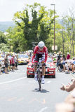 The Cyclist Lars Bak - Tour de France 2014 Stock Image