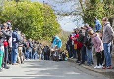 The Cyclist Lieuwe Westra - Paris-Nice 2016 Stock Photos