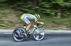 The Cyclist Maciej Bodnar Stock Images