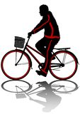Cyclist man Stock Photography