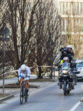 The Cyclist Marcel Kittel- Paris Nice 2013 Prologue in Houilles Royalty Free Stock Image
