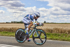 The Cyclist Marco Marcato Stock Photo