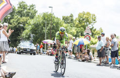 The Cyclist Marco Marcato - Tour de France 2014 Royalty Free Stock Image