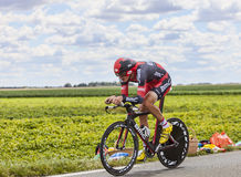 The Cyclist Marcus Burghardt Stock Photos