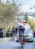 The Cyclist Matthias Brandle - Paris-Nice 2016 Stock Photography