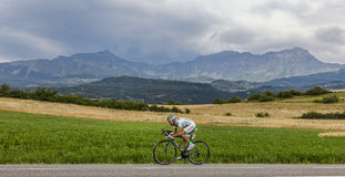 The Cyclist Maxime Mederel Royalty Free Stock Image