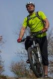 Cyclist. Royalty Free Stock Photos