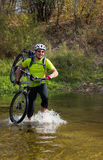 Cyclist. Royalty Free Stock Photography