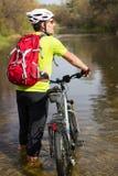 Cyclist. Stock Photo