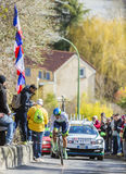 The Cyclist Michael Albasini - Paris-Nice 2016 Stock Image