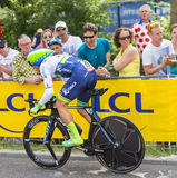 The Cyclist Michael Albasini - Tour de France 2015 Royalty Free Stock Image