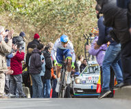 The Cyclist Michael Matthews - Paris-Nice 2016 Royalty Free Stock Photo