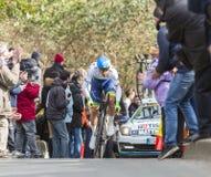 The Cyclist Michael Matthews - Paris-Nice 2016 Royalty Free Stock Photo