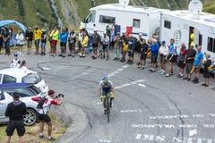 The Cyclist Michael Matthews - Tour de France 2015 Royalty Free Stock Images