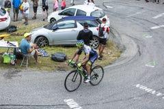 The Cyclist Michael Matthews - Tour de France 2015 Royalty Free Stock Photo