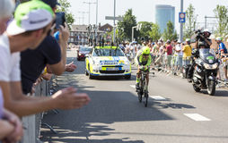 The Cyclist Michael Rogers - Tour de France 2015 Royalty Free Stock Images
