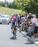 The Cyclist Nelson Oliveira - Tour de France 2014 Stock Photos