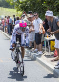The Cyclist Nelson Oliveira - Tour de France 2014 Stock Photography