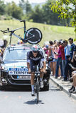 The Cyclist Niki Terpstra - Tour de France 2014 Royalty Free Stock Photo