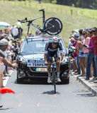 The Cyclist Niki Terpstra - Tour de France 2014 Royalty Free Stock Photos