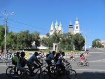cyclist imagem de stock royalty free