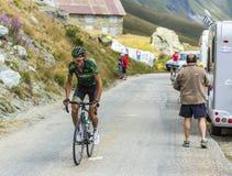 The Cyclist Perrig Quemeneur - Tour de France 2015 Royalty Free Stock Image