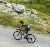 The Cyclist Perrig Quemeneur - Tour de France 2015 Royalty Free Stock Photos