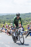 The Cyclist Perrig Quemeneur - Tour de France 2014 Stock Photos