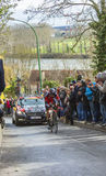 The Cyclist Peter Velits - Paris-Nice 2016 Stock Image