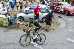 The Cyclist Pierre Rolland - Tour de France 2015 Royalty Free Stock Image