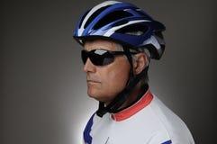 Cyclist Portrait Stock Image