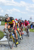 The Cyclist Preben Van Hecke - Paris Roubaix 2016 stock images
