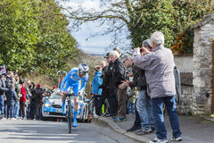 The Cyclist Quentin Pacher - Paris-Nice 2016 Royalty Free Stock Images