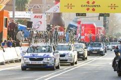 Cyclist race Stock Photos