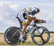 The Cyclist Rafael Valls Ferri Royalty Free Stock Photography