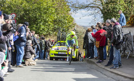 The Cyclist Rafal Majka - Paris-Nice 2016 Stock Image