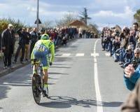 The Cyclist Rafal Majka - Paris-Nice 2016 Stock Photography
